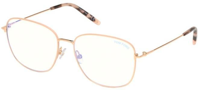Tom Ford brillen FT 5572-B BLUE BLOCK