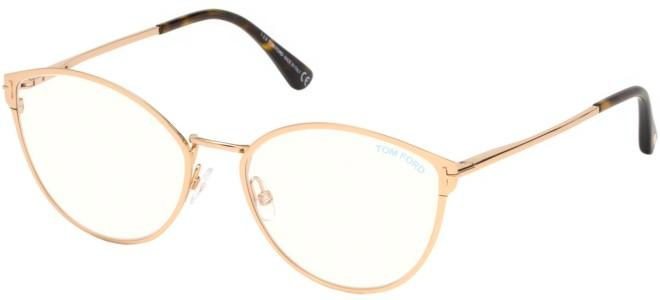 Tom Ford brillen FT 5573-B BLUE BLOCK