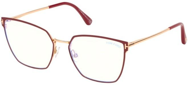 Tom Ford brillen FT 5574-B BLUE BLOCK