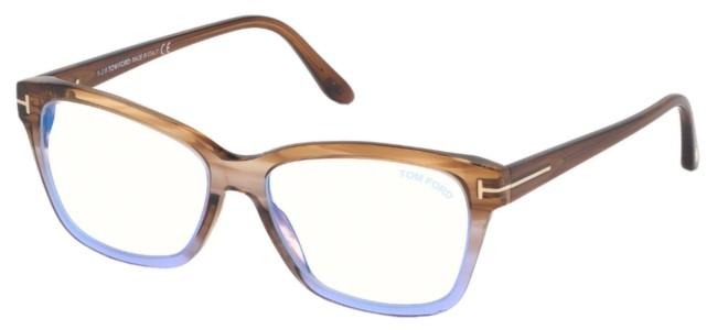 Tom Ford brillen FT 5597-B BLUE BLOCK