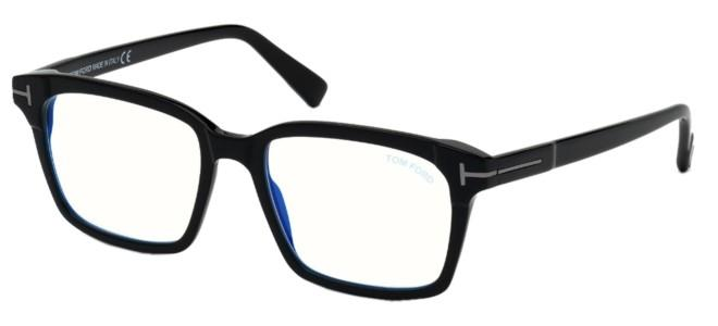 Tom Ford eyeglasses FT 5661-B-N BLUE BLOCK BURNISHED