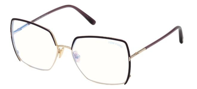 Tom Ford brillen FT 5668-B BLUE BLOCK