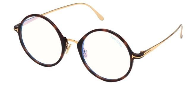 Tom Ford brillen FT 5703-B BLUE BLOCK