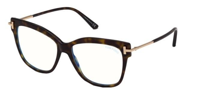 Tom Ford brillen FT 5704-B BLUE BLOCK