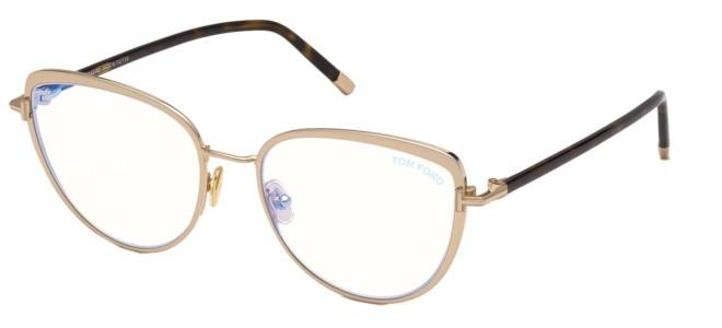 Tom Ford brillen FT 5741-B BLUE BLOCK