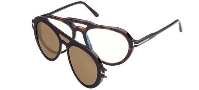 Tom Ford briller FT 5760-B BLUE FILTER
