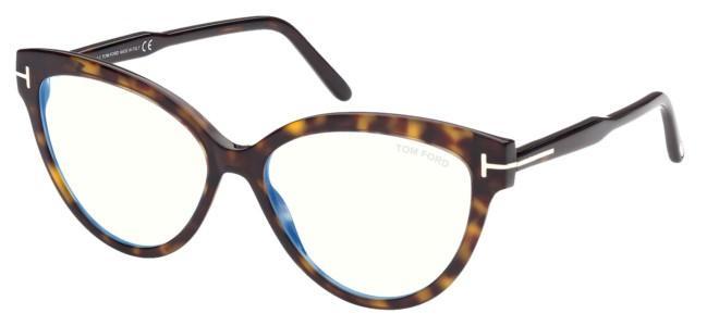 Tom Ford briller FT 5763-B BLUE BLOCK