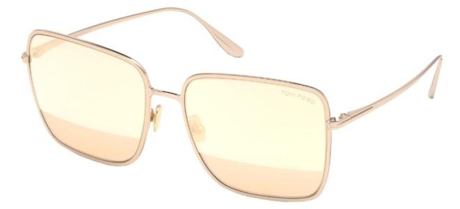 Tom Ford solbriller HEATHER FT 0739