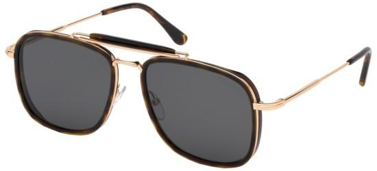 Tom Ford solbriller HUCK FT 0665
