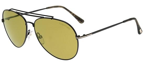 aa56dbb002 Tom Ford INDIANA FT 0497 BLACK GREEN unisex AUTHENTIC Sunglasses ...