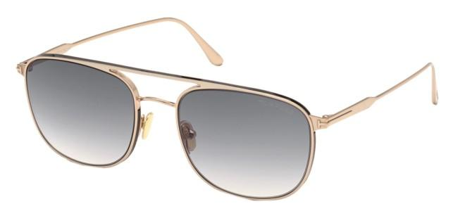 Tom Ford solbriller JAKE FT 0827
