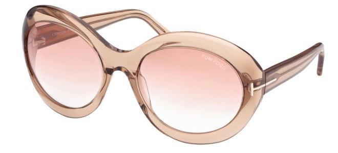 Tom Ford solbriller LIYA-02 FT 0918