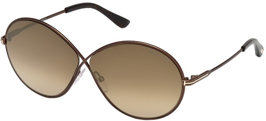 Occhiale da Sole Tom Ford Rania-02 FT 0564 (48G) cJAZzMUIZ
