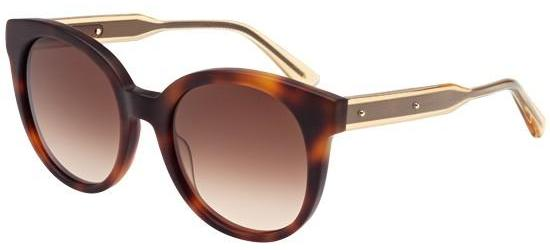 Bottega Veneta BV0002S MATTE HAVANA/BROWN SHADED