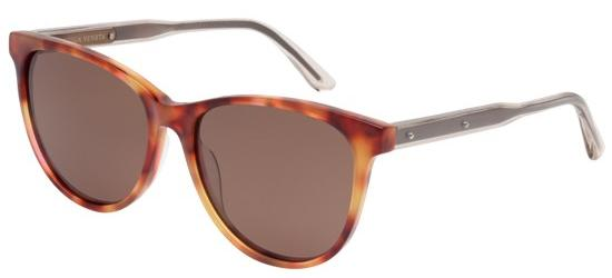 Bottega Veneta BV0021S LIGHT HAVANA/BROWN POLARIZED