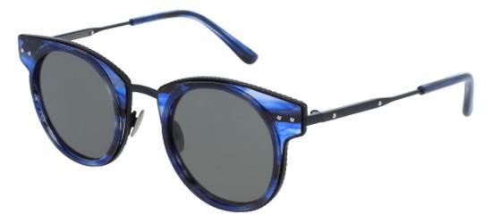 Bottega Veneta BV0063S BLUE HAVANA/GREY