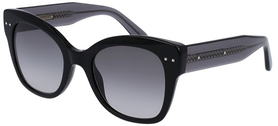 Bottega Veneta BV0083S BLACK/GREY SHADED