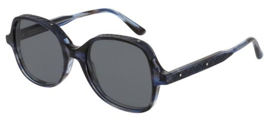 Bottega Veneta DNA BV0068S BLUE HAVANA/GREY
