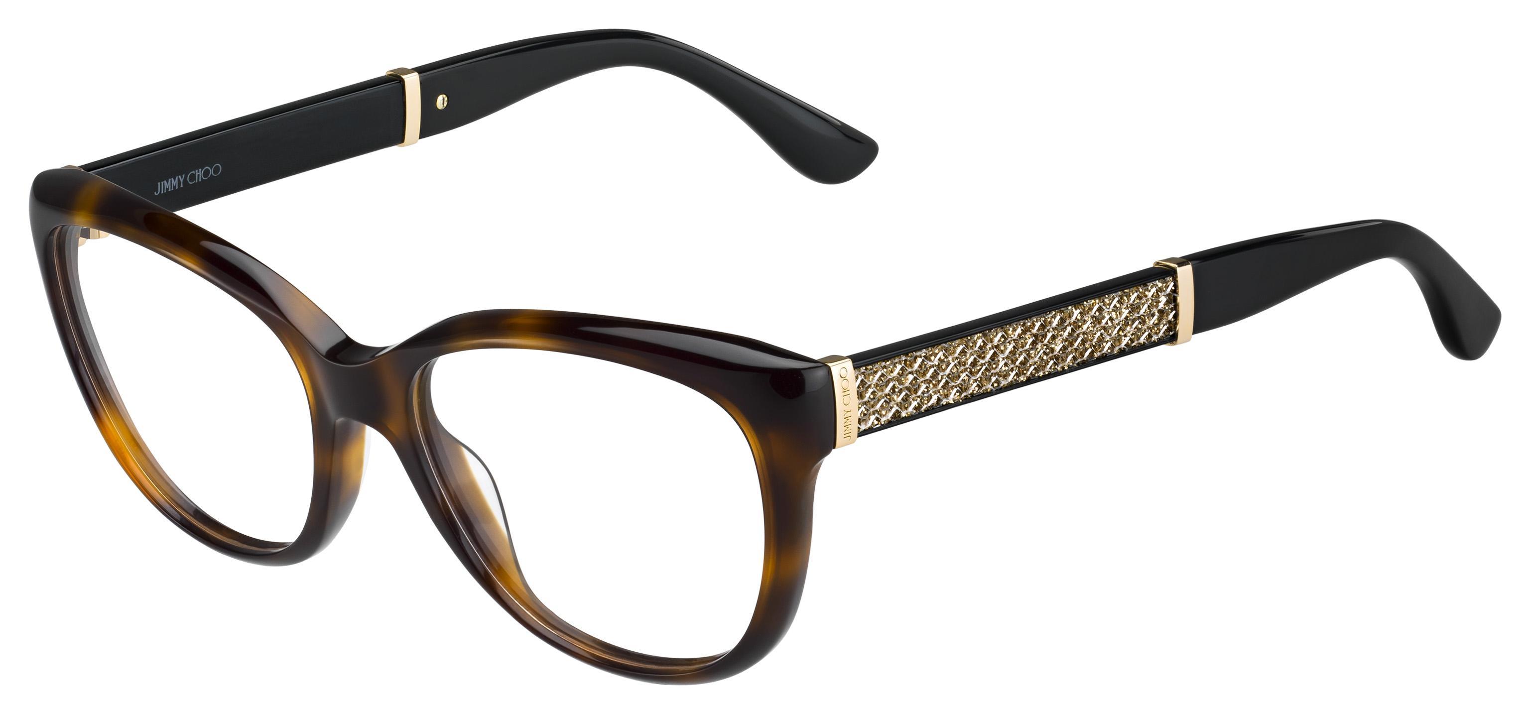 Jimmy Choo Womens JC184 Eyeglasses