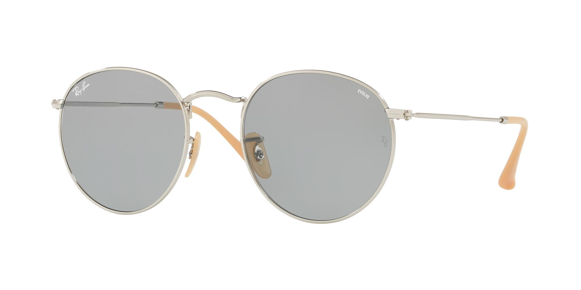 Ray-Ban RB 3447 029 Round Metal Sunglasses | Sunglasses Direct