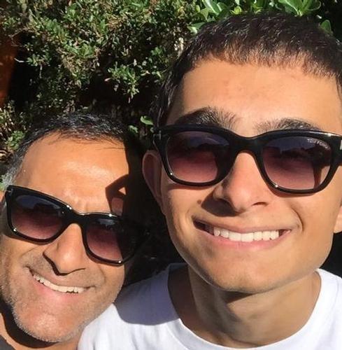 Selfie Kam & Luca