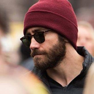 Jake Gyllenhaal - Garrett Leight BROOKS MATTE ESPRESSO